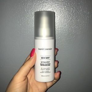 TWO BareMinerals Dew Mist setting spray